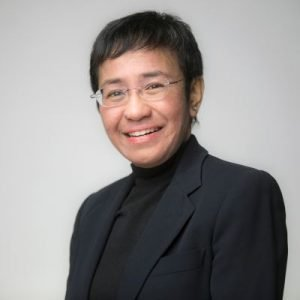 Maria Ressa, CEO of Rappler, Journalist and Nobel Peace Prize Nominee